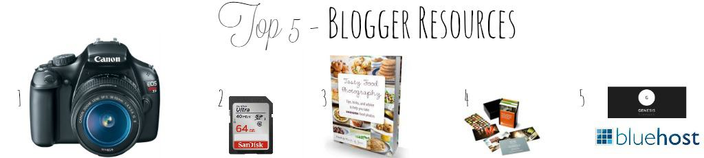 Top 5 Blogger Resources