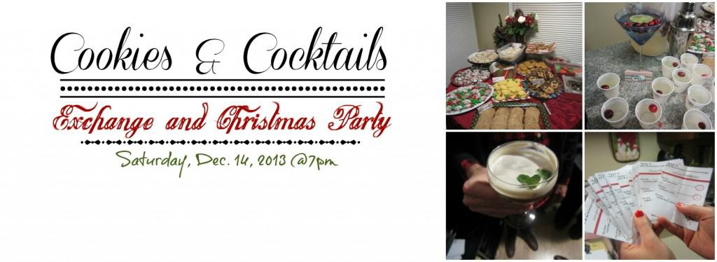 Cookies and Cocktails Party Invite