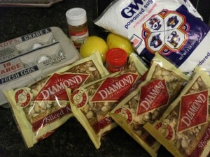 zimtsterne cookies recipe ingredients