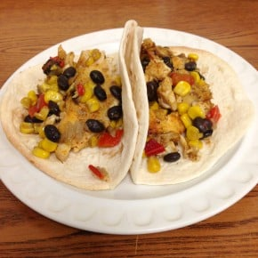 Spiced Rubbed Tilapia Tacos