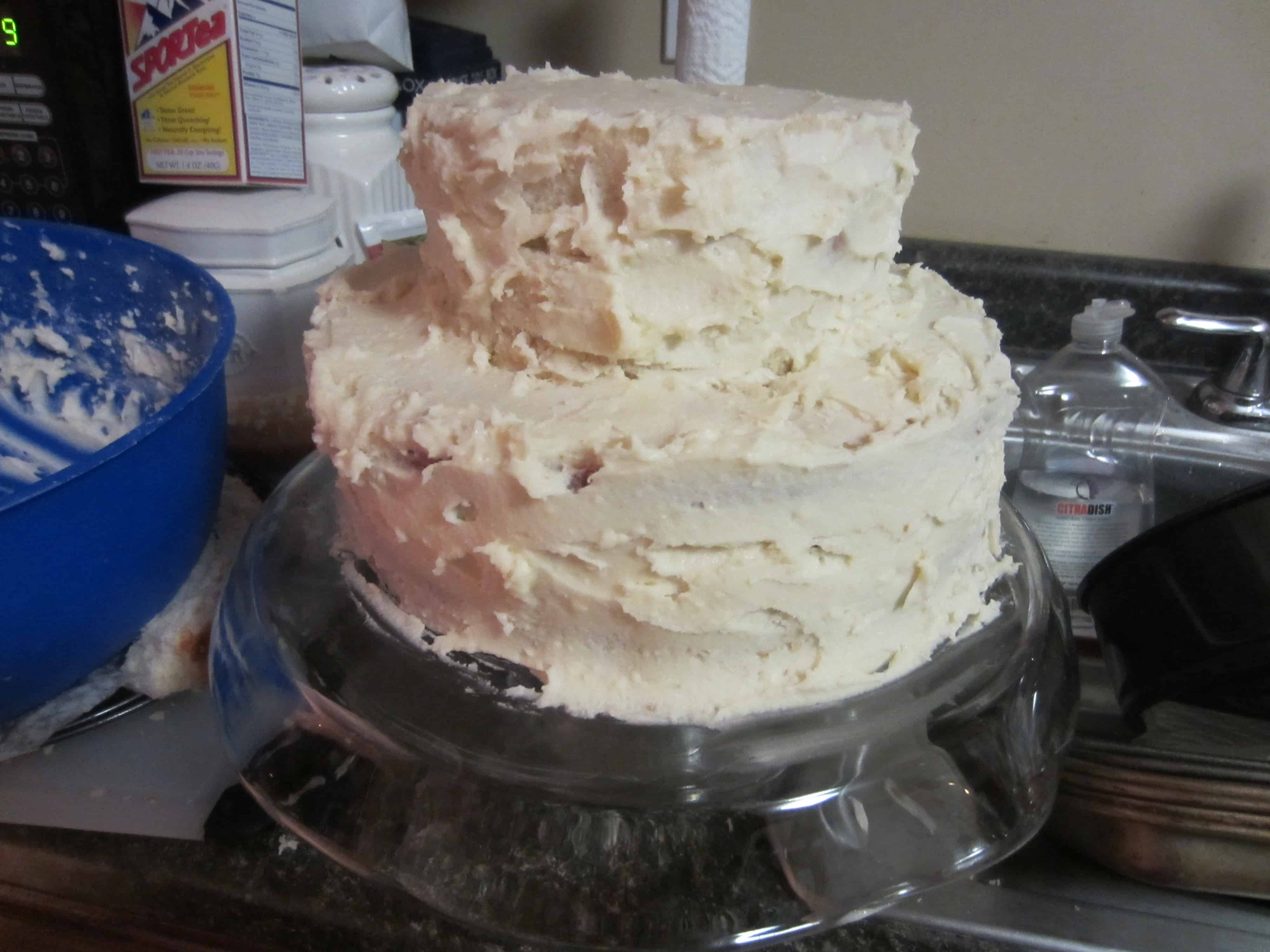 the best wedding cake frosting best wedding cake recipe white almond buttercream 20833