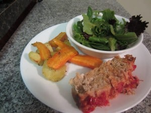 Parmesan Crusted Meatloaf