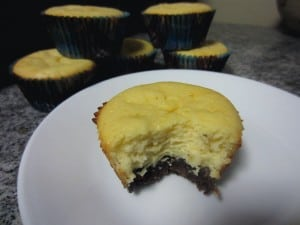 Black Bottom Goat Cheese Cheesecake Cups 2