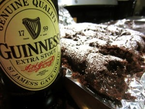 Guinness Gooey Brownies