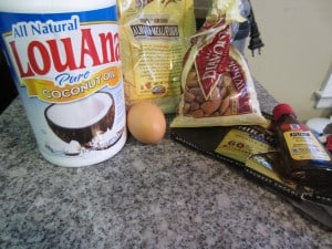 almond cookie ingredients