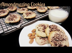 Almondazing Cookies - Almond Cookies made with almond flour