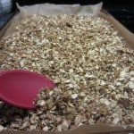 making home made granola