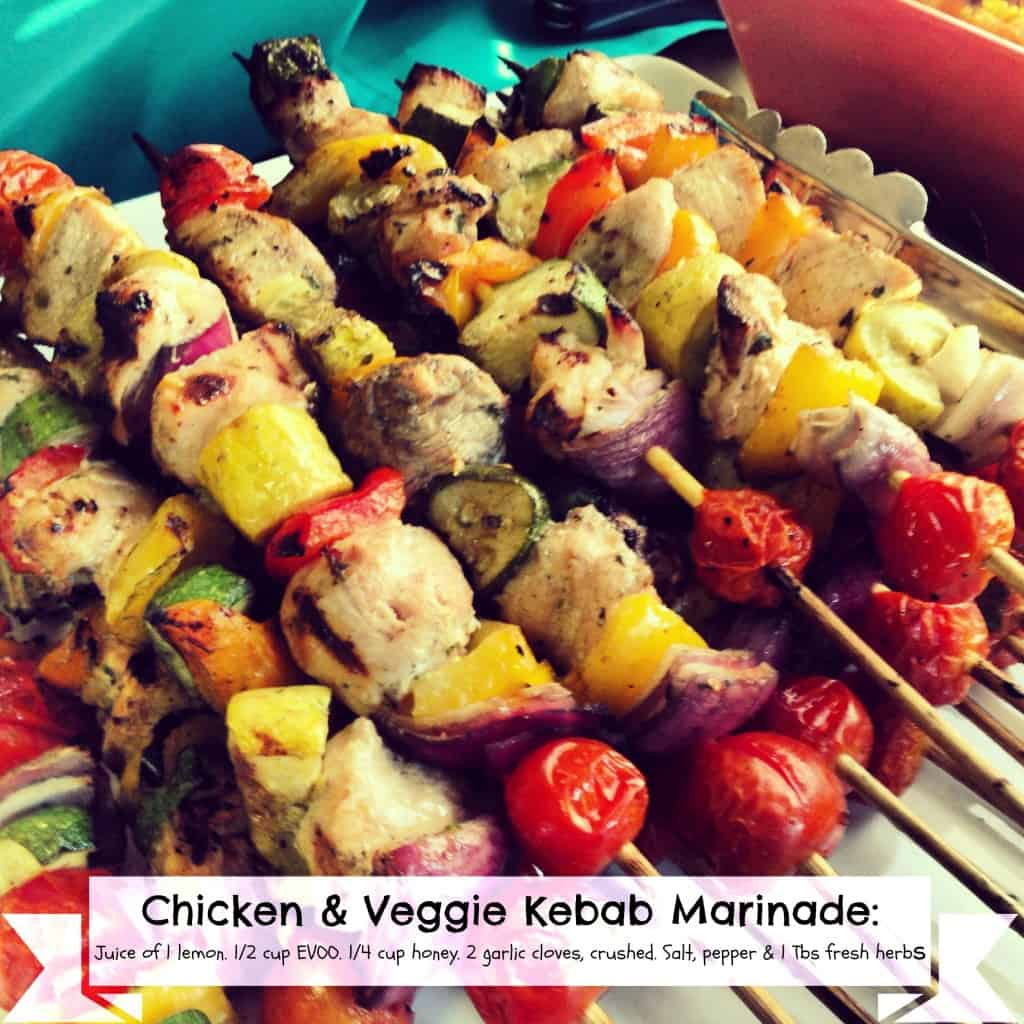 Chicken and Veggie Kebab Marinade