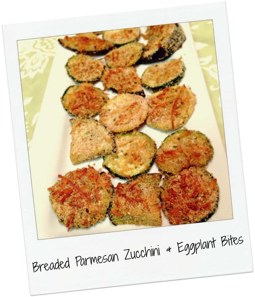 Breaded Parmesan Zucchini Bites