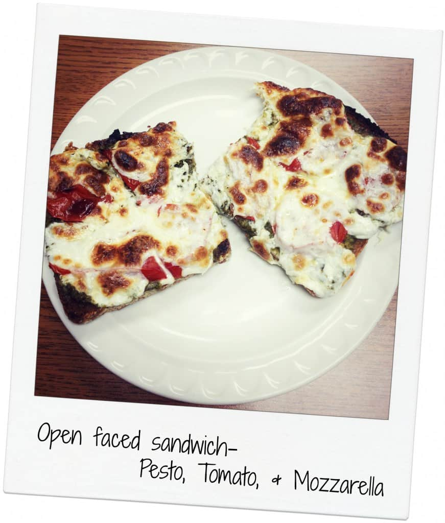 Five Ingredient Friday - open faced sandwich