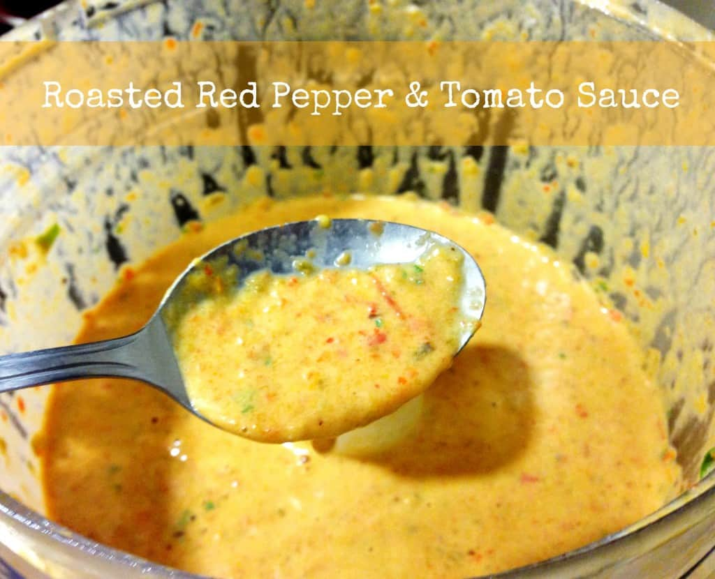 Roasted Red Pepper & Tomato Sauce
