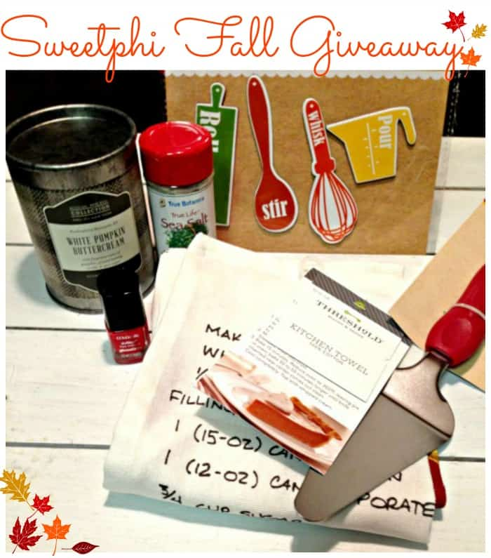Sweetphi Fall Giveaway
