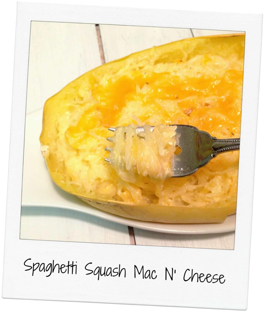 Spaghetti Squash Mac and Cheese