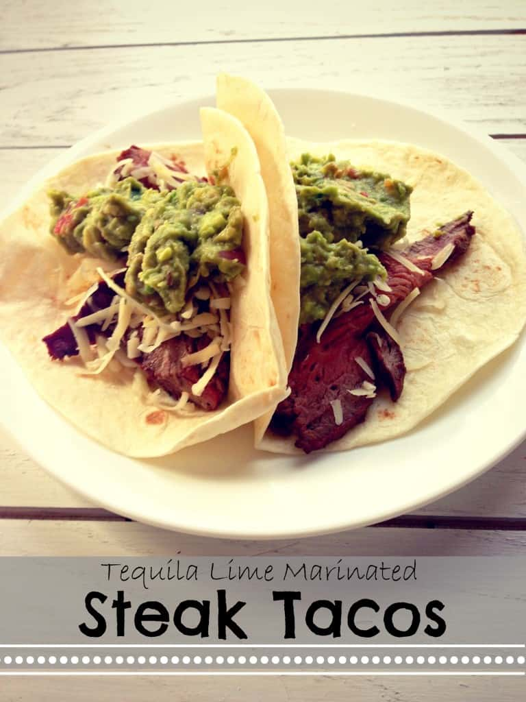 Tequila Lime Steak Tacos