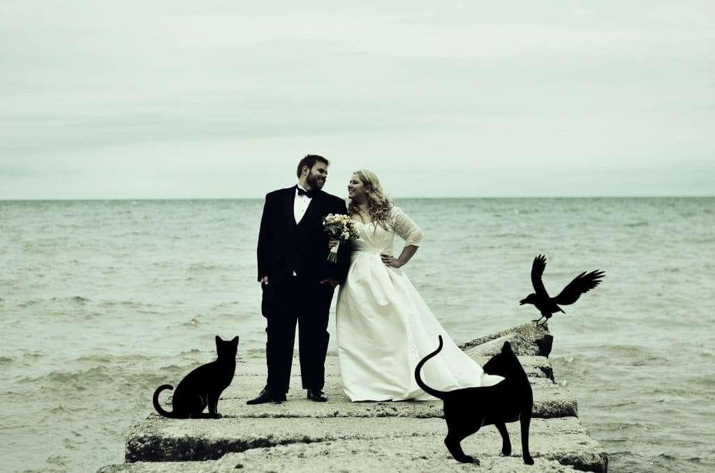 Halloween-wedding-photo