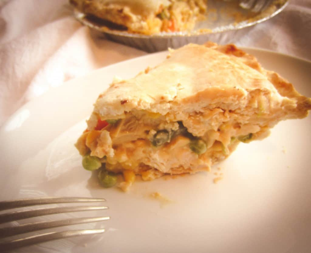 Five Ingredient Chicken Pot PIe