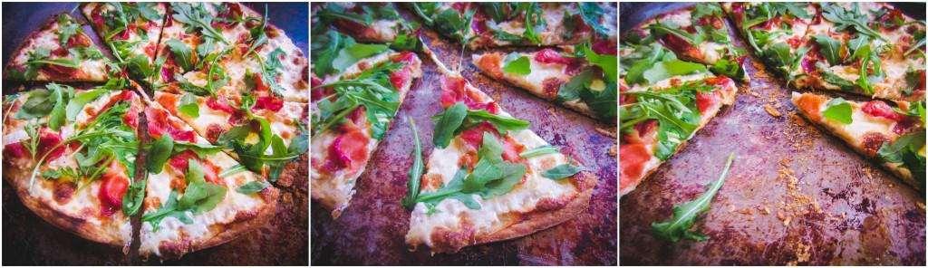 Prosciutto Pizza collage