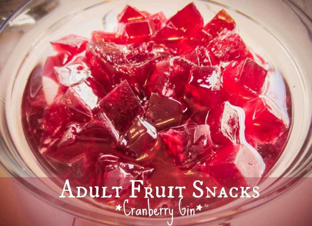 Adult Fruit Snacks