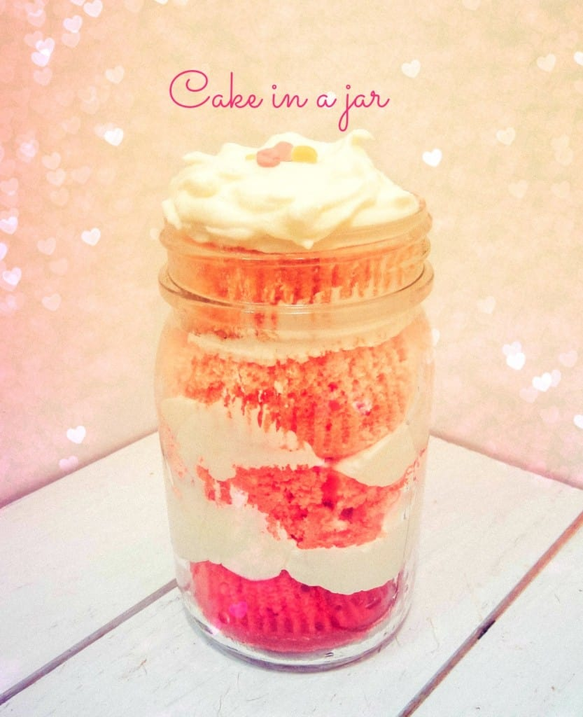 Cake in a Jar - Sweetphi