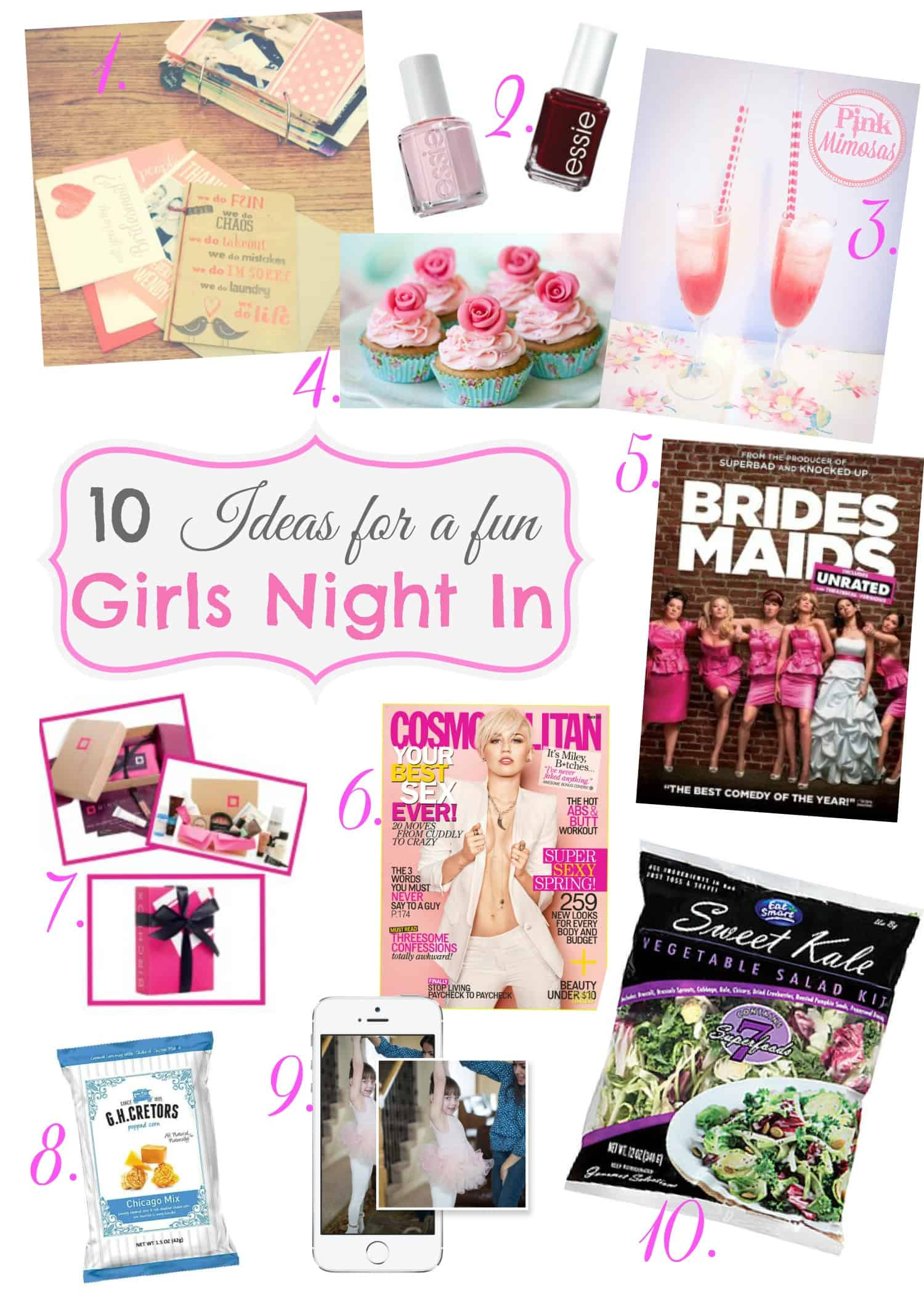 10 Ideas For Girls Night In