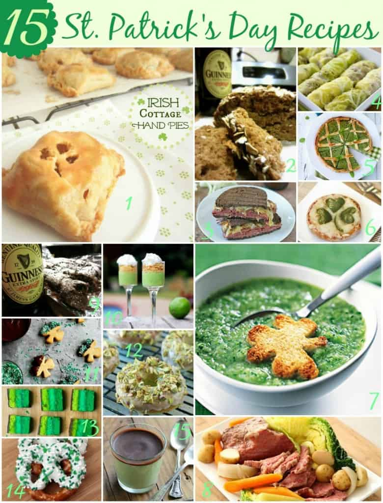 15 Must Make St. Patricks day recipes