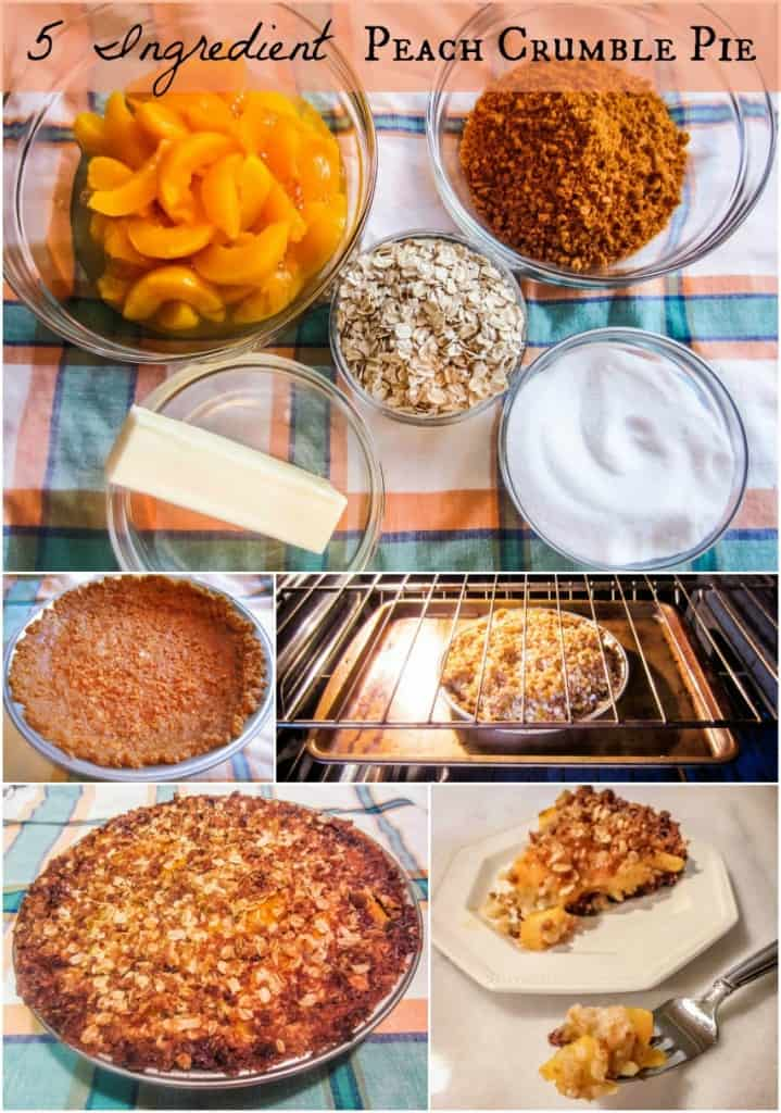 5-Ingredient-Peach-Crumble-Pie