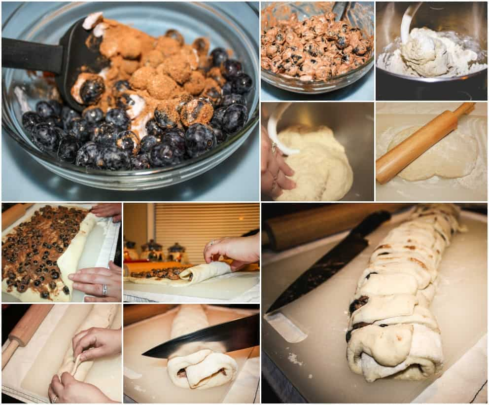 Pancake Mix Cinnamon Rolls