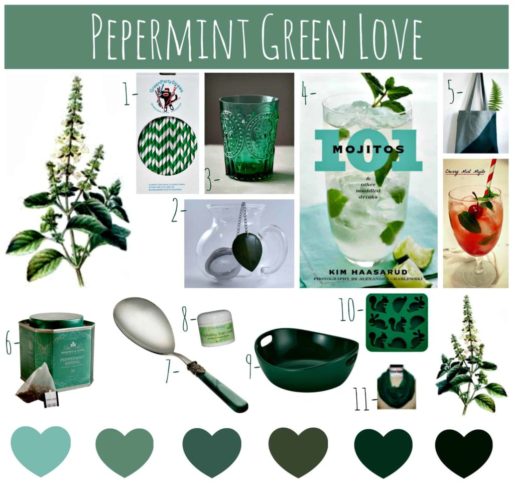 Peppermint-Green-Love