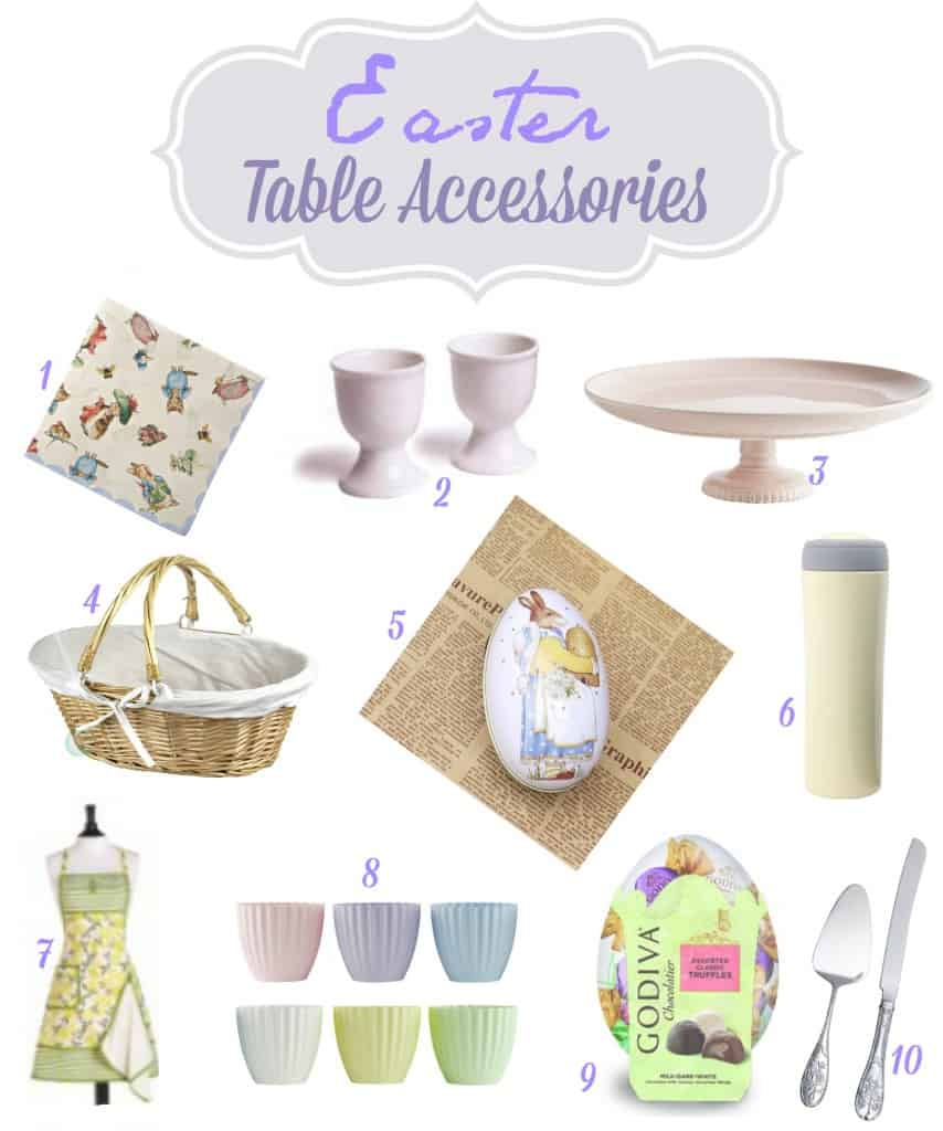 Easter Table Accessories
