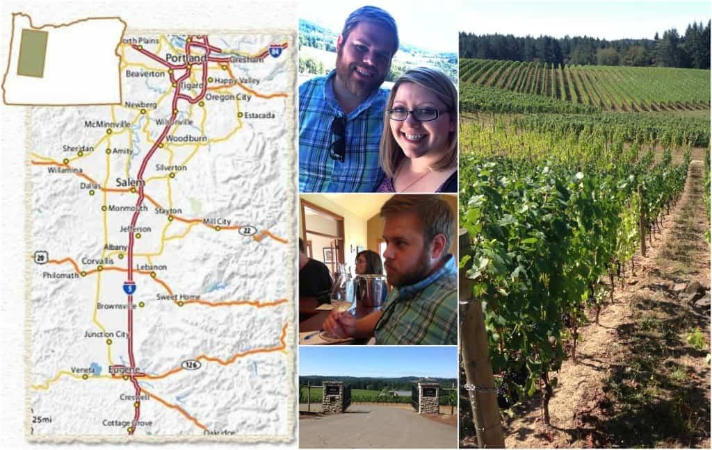Oregon Wine Trail - Willamette Valley