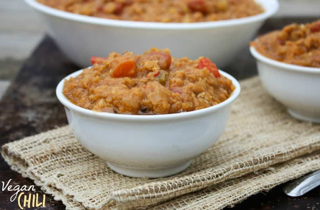 Vegan Red Lentil Chili