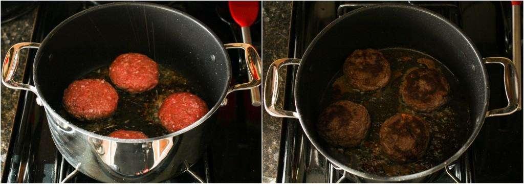 Big Pot Method to cook burgers