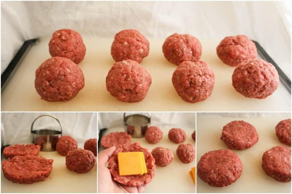 How to make cheese stuffed cheeseburgers