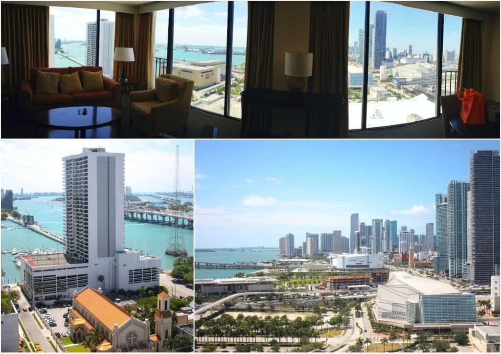 Hilton Miami hotel view