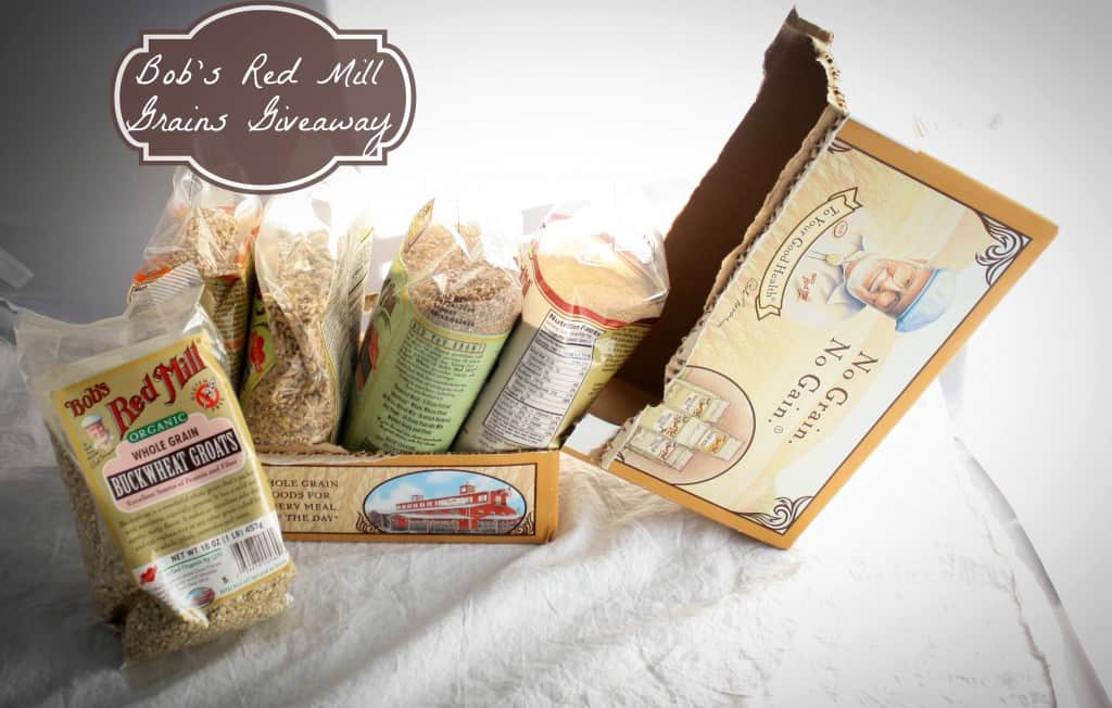 Bobs red mill grains Giveaway