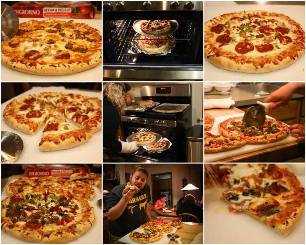 DIGIORNO® Design A Pizza™ Kit pizza party