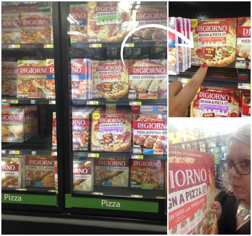 DIGIORNO® Design A Pizza™ Kits at Walmart