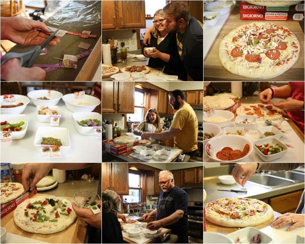 DiGiornos Pizza Party
