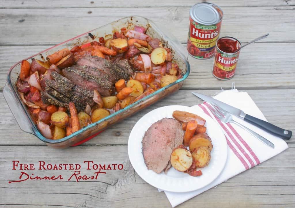 Fire Roasted Tomato Dinner Roast