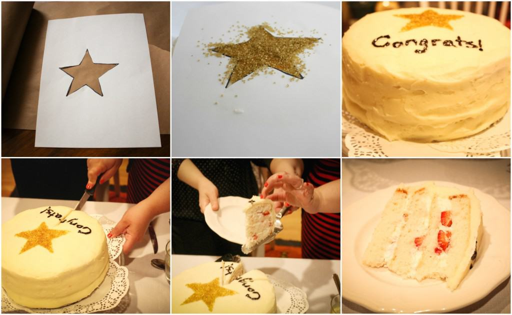 Graduation Congrats Cake