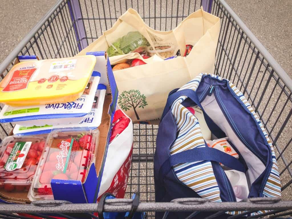 ALDI shopping cart