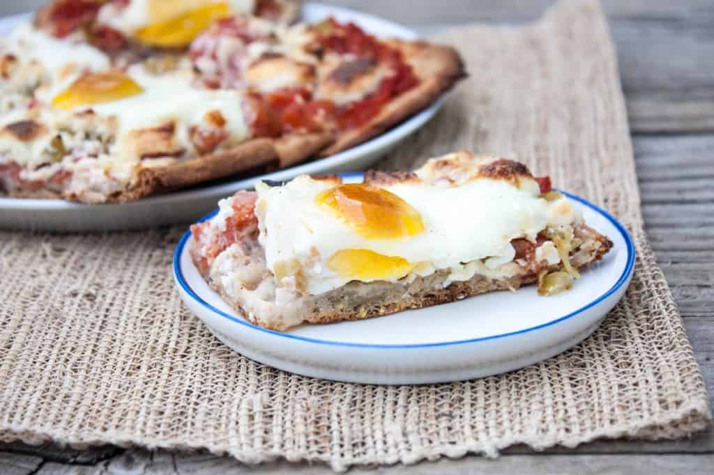 Stonefire Queso Fresco Chile Breakfast Pizza