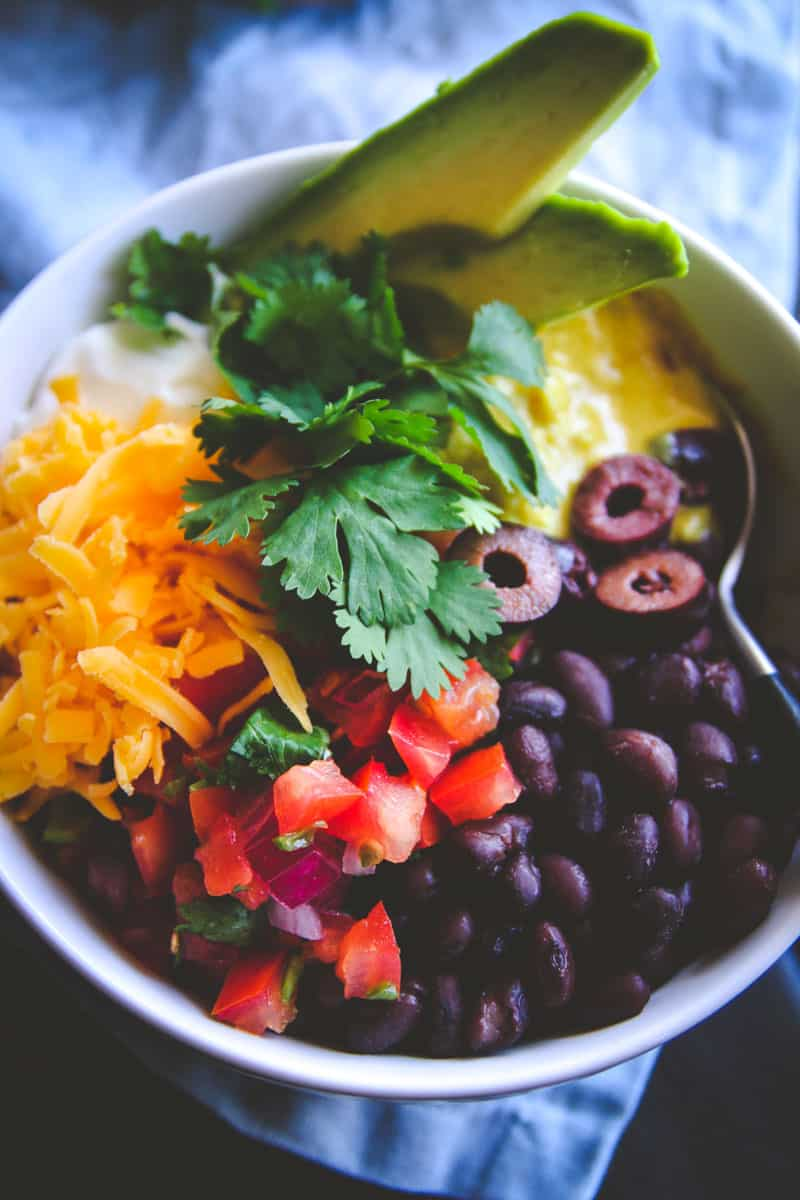 The whole bowl tali sauce recipe, perfect for a gluten free vegetarian dinner from @Sweetphi