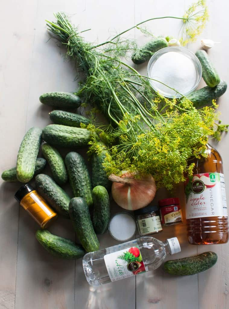 Bread-and-butter-pickle-ingredients