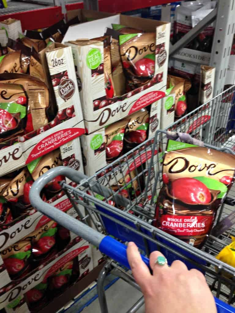 Dove Chocolate Cranberry from Sams