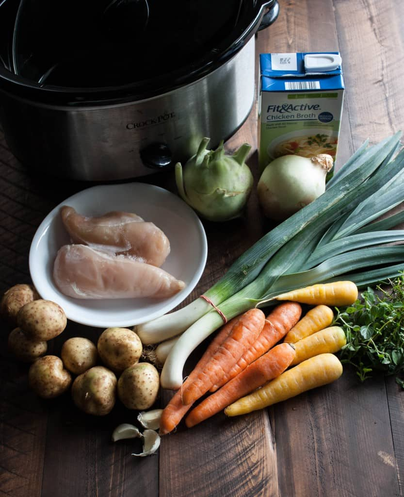 Farmers-Market-Chicken-and-Vegetable-Soup-Ingredients