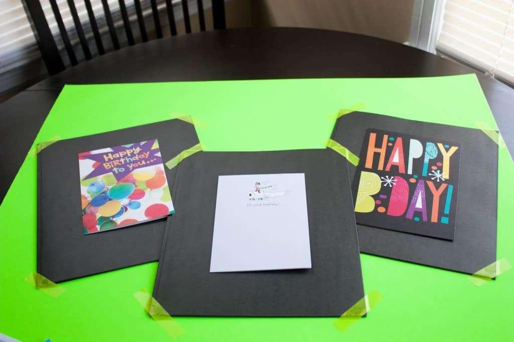 Hallmark Value Cards - creative card idea for a 30th birthday