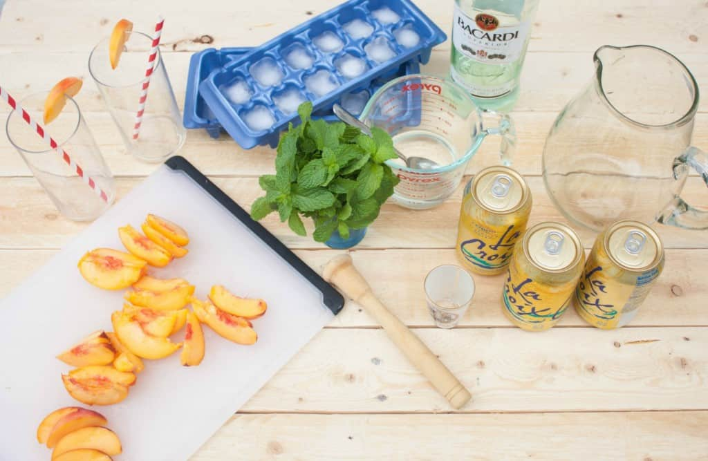 Peach-Mojito-Ingredients