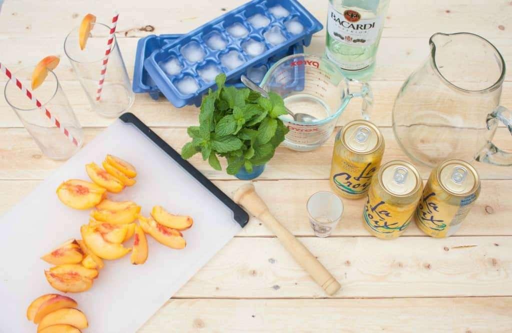 Peach-Mojito-Ingredients