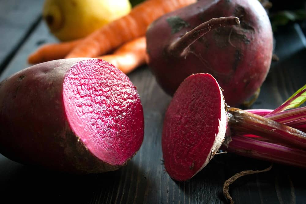 Pretty pink beets